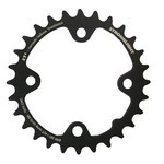 Stronglight MTB Type CT2 Sram 80 mm 10 s Inside Double Chainring - Black