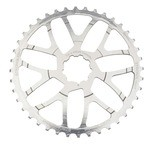 Stronglight 42(36) Teeth Conversion Kit for SRAM 10 Speed Cassette - Silver