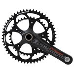 Stronglight Vorace Carbon Compact Crankset - 110 mm - 52-38 Teeth
