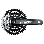 SR Suntour XCT JR-T202 Junior Crankset - Black