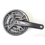 SR-Suntour Crankset XCC T-202 170mm  Dents/170 mm Black