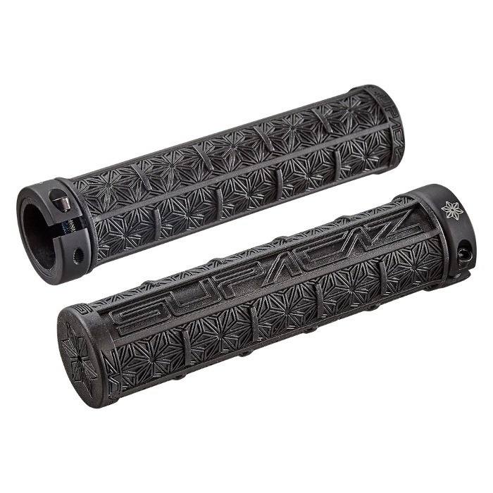 Supacaz Grizips Lock-on Bar Grips Black