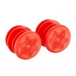 Supacaz Endz Bar plugs - Red