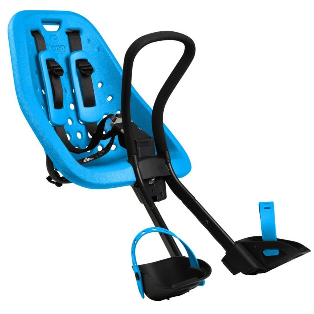 Thule Yepp Mini Front Child Seat - Stem Mounting - Blue