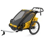Thule Chariot Sport 2 Child Trailer Yellow/Black