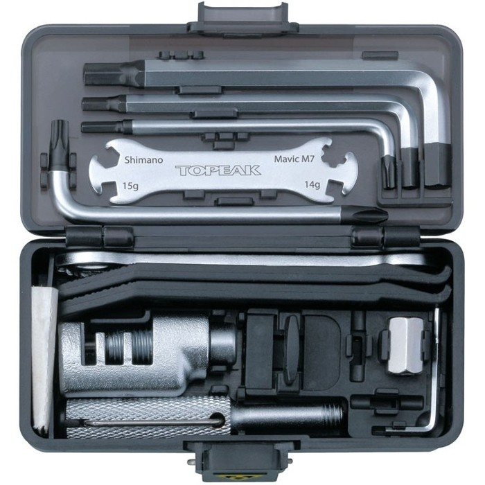 Multifunction Tools :: Toolbox Survival Gear Box Topeak