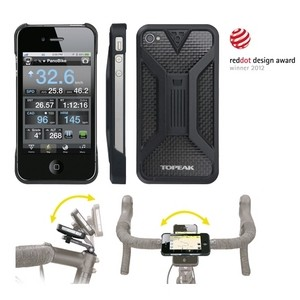 sale retailer 1016a d2d82 Phone Holder Apple iPhone 4 & 4S Topeak Ride Case 2 (Black)