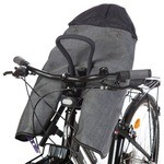 Tucano Urbano Opossum Front Thermal Shell for Front Child Seat Grey