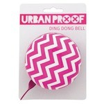 Urban Proof Ding Dong Bike Bell Ø8cm Rafters Pink/White