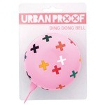 Urban Proof Ding Dong Bike Bell Ø8cm Plus Pink