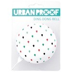 Urban Proof Ding Dong Bike Bell Ø8cm Multicolor Raindrops/White