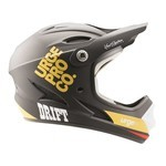 Urge Drift Full-Face Kid Helmet - Black/Gold