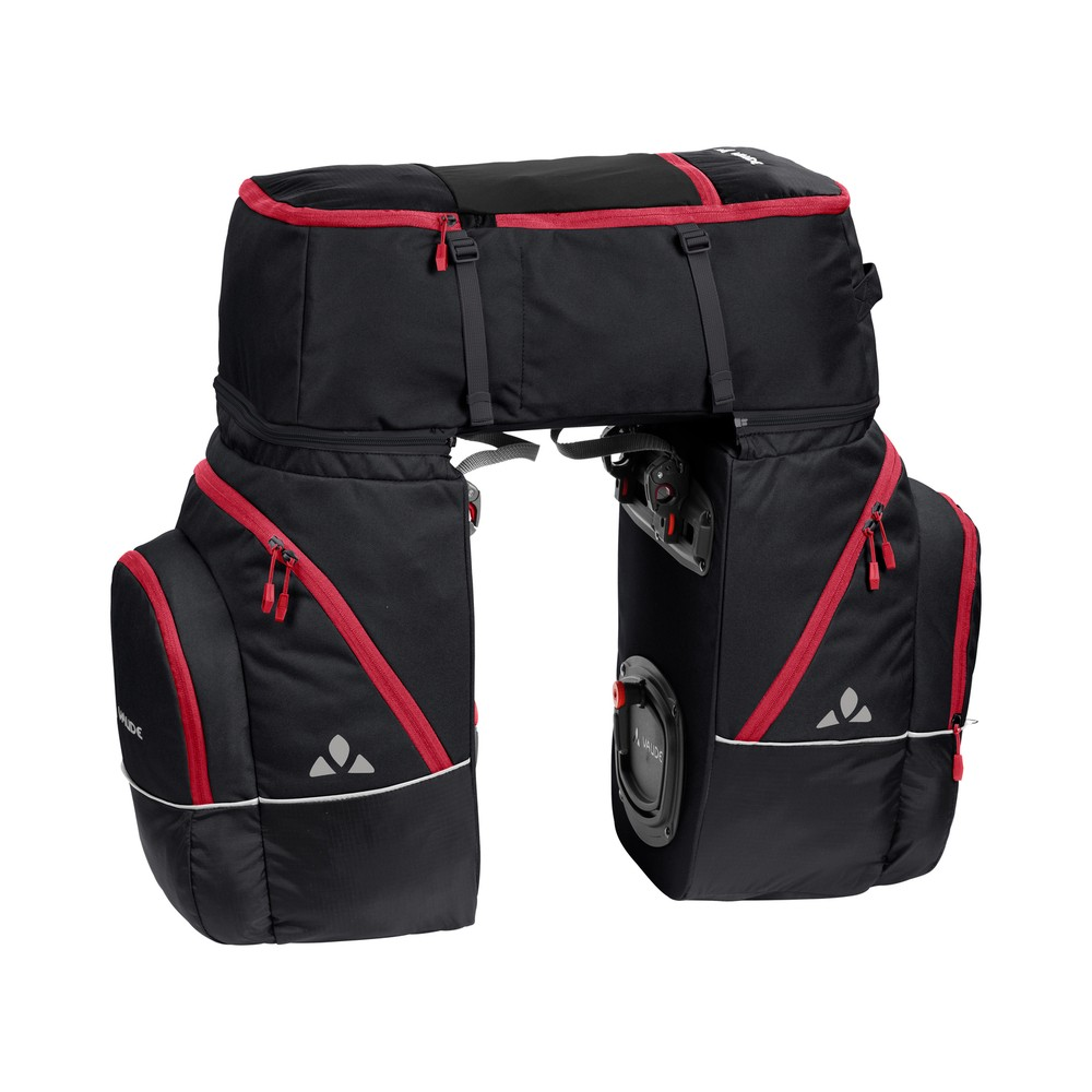 Vaude Karakorum Travel Bags - Vol. 68 l - Black-Red
