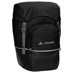Pair of Vaude Road Master Front Travel Bags - Black