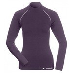 Vaude Women's Seamless LS Shirt Baselayer [Merino] - Elderberry