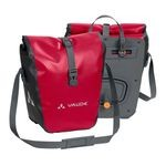 Vaude Aqua Front Bike Panniers - Red - Pair