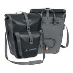 Vaude Aqua Back Plus Bike Panniers - Black - Pair