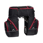 Vaude Karakorum Travel Bags - Black-Red