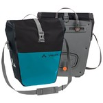 Pair of Vaude Aqua Back Color Travel Bags - Black-Blue