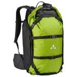 Backpack Vaude Trailpack 27L Black/Green