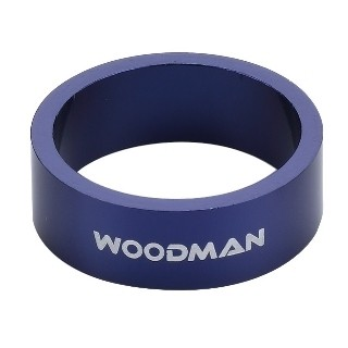 Alloy Spacer Woodman 1' 1/8 - 10 mm (Blue)