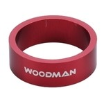 Alloy Spacer Woodman 1' 1/8 - 10 mm (Red)