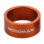 Alloy Spacer Woodman 1' 1/8 - 15 mm (Orange)