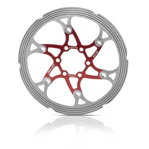 XLC Disc BR-X59 red/silver 203 mm