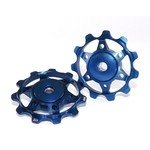 XLC PU-A02 Derailleur Pulleys - Blue