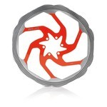 XLC Disc  BR-X58 160mm Red/Silver