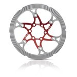 XLC Disc BR-X59 red/silver 180 mm
