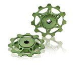 XLC PU-A02 Derailleur Pulleys - Green