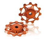 XLC PU-A02 Derailleur Pulleys - Orange