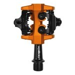 Xpedo MTB Pedals CRX XMF 10AC Black/Orange