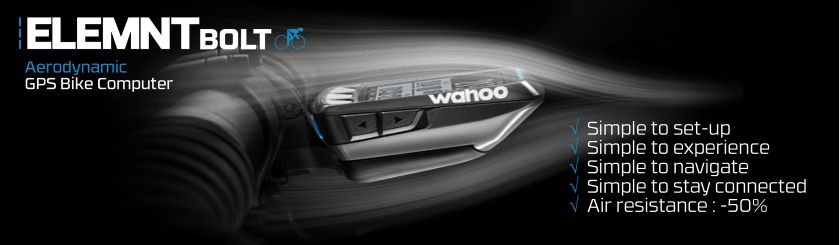 New Wahoo Elemnt Bolt GPS at XXcycle